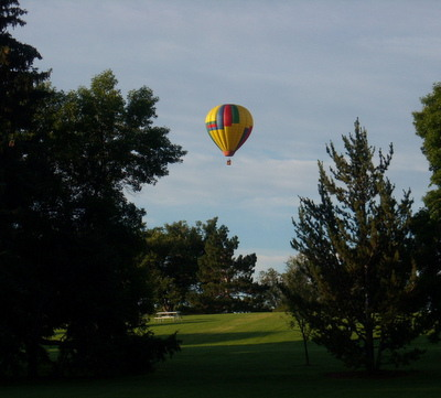 balloon, City Park, Fort Collins